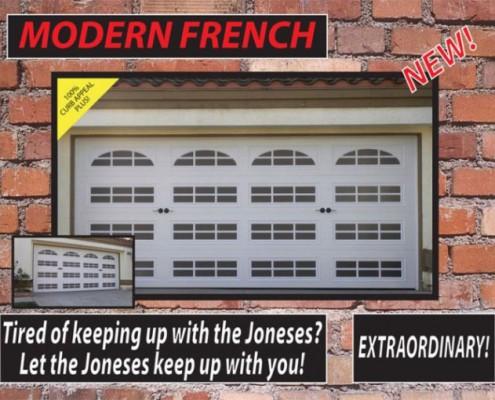 modernfrench door