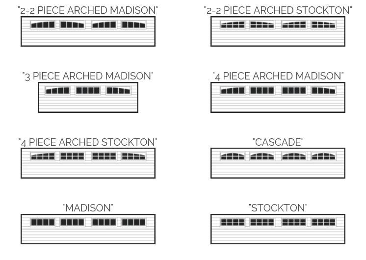 Accents planks 3216 doorworks for Insulated garage door window inserts