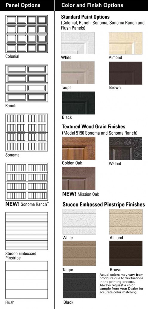 Sectional-Steel-Door-Thermomark-5150-5200-PANELS-COLORS