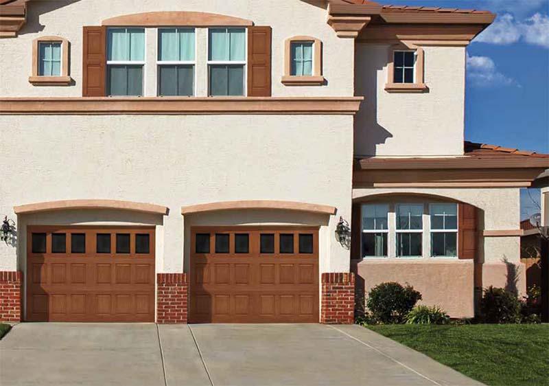 Fiberglass Garage Doors Model 9800 Doorworks